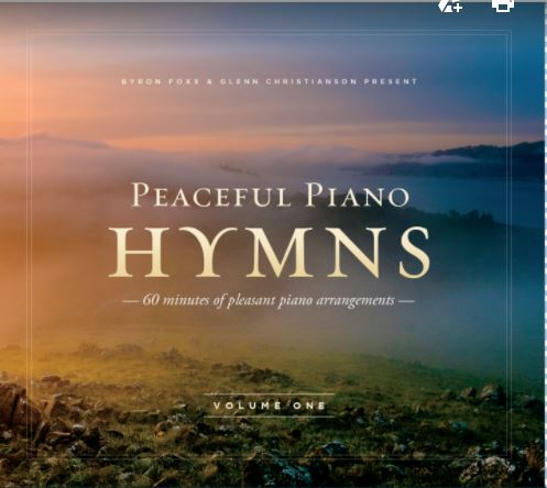 Peaceful Piano Hymns CD #1