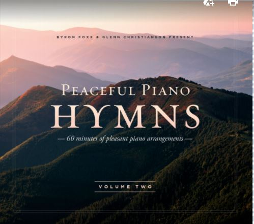 Peaceful Piano Hymns CD #2