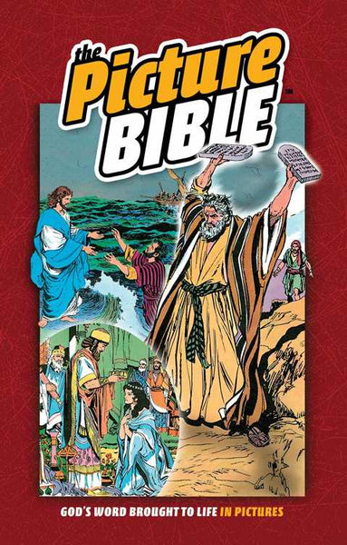The Picture Bible Hardcover: Timeless Stories of the Bible in Full Color