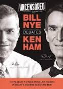 Uncensored Science: Bill Nye Debates Ken Ham 4 -DVD Set