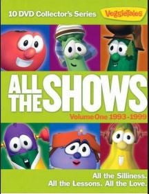 Veggie Tales ''All the Shows'' DVD Set Volume 1