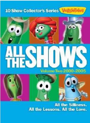 Veggie Tales ''All the Shows'' DVD Set Volume 2