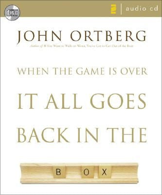 When the Game is Over, It All Goes Back in the Box - CD