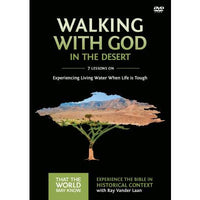 Faith Lessons #12 DVD Walking With God in the Desert
