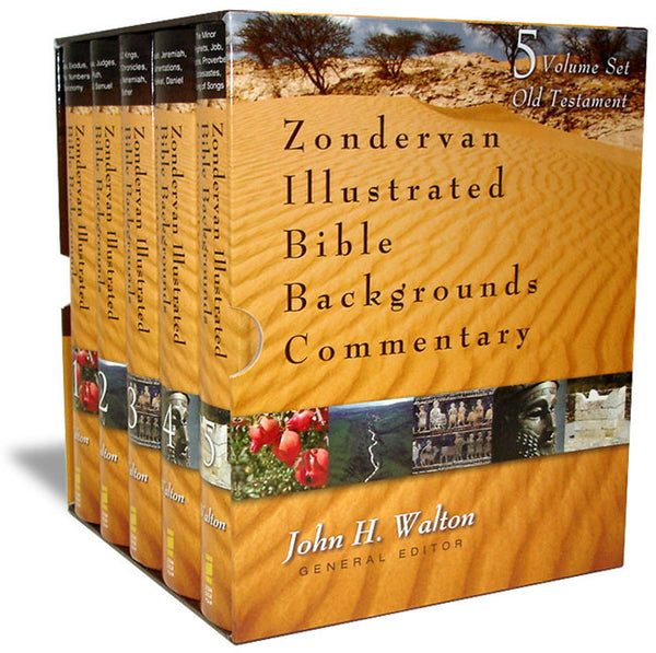 Zondervan Illustrated Bible Background Commentary Volumes #1 - 5 on the Old Testament