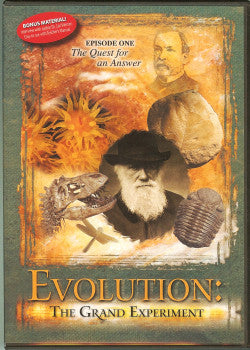 Evolution: The Grand Experiment - Episode 1 - THE QUEST FOR AN ANSWER - DVD