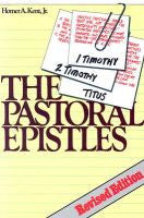 The Pastoral Epistles  Studies in I & II Timothy and Titus