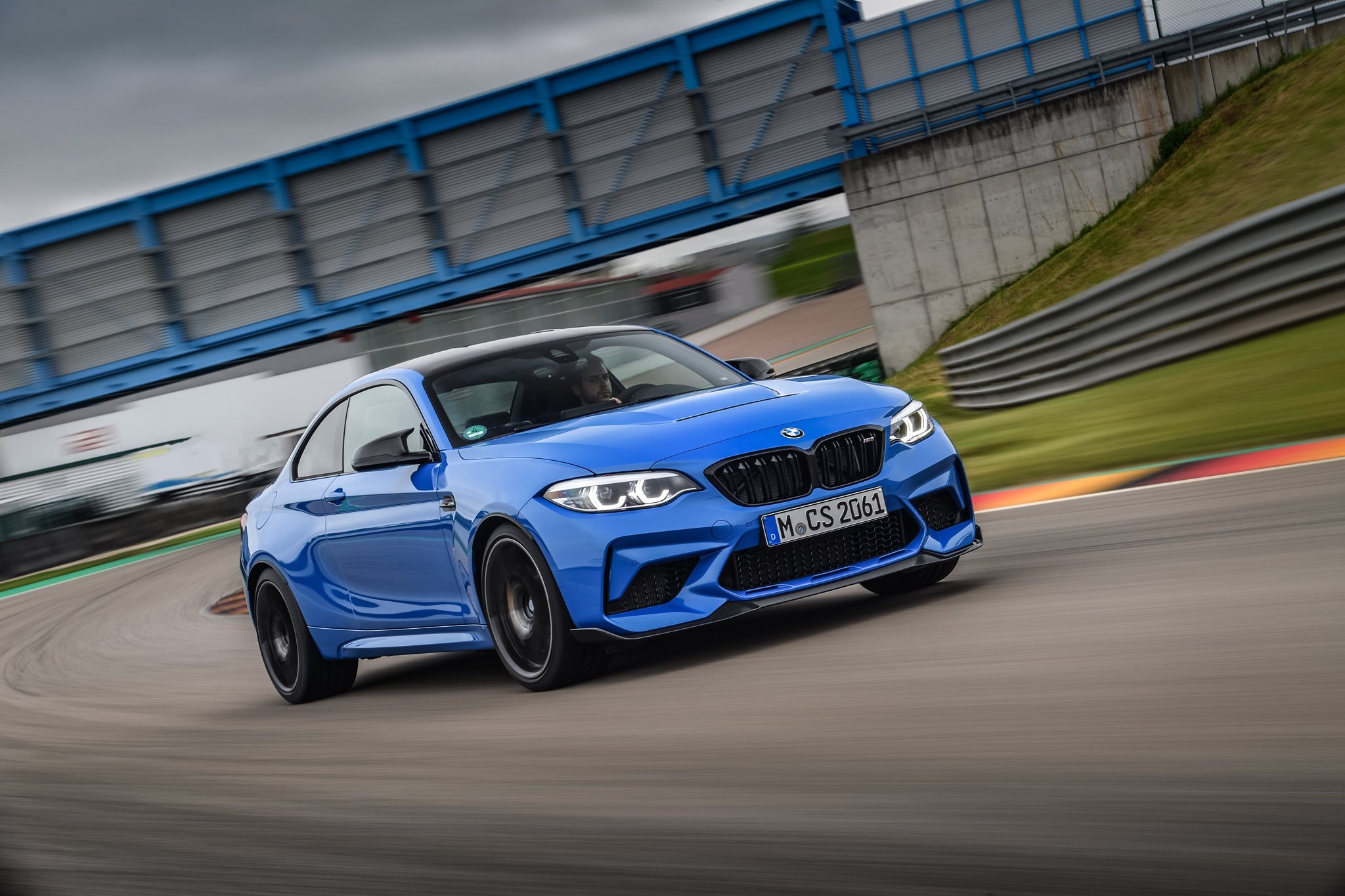 BMW M2 on the track