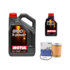 SV Motori Oil Change Kit For BMW M3's and Z4's with S54 Motor. Motul X-POWER 10W-60 6 Liters w/ MAHLE OX 187D Filter Set