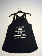 99 Problems, Protein, #Vegan, Vegan, Vegans Rock Apparel, Vegan Tee, Vegan T-Shirt, Vegan Tank, Vegan Tank Top, Unisex Tank, Vegan clothing