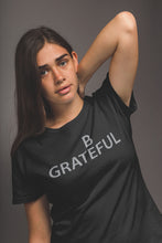 Be Grateful Tee Black
