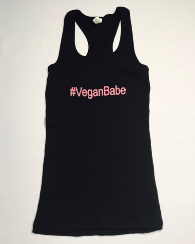#Veganbabe Womans Ribbed Tank