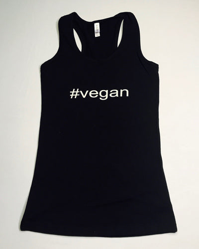 #Vegan, Vegan, Vegans Rock Apparel, Vegan Tee, Vegan T-Shirt, Vegan Tank, Vegan Tank Top, Unisex Tank, Vegan clothing
