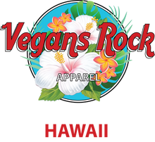 Vegans Rock Hawaii Tee 1