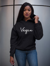 Vegan Signature Fleece Pullover Black