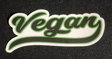 Vegan Retro Sticker