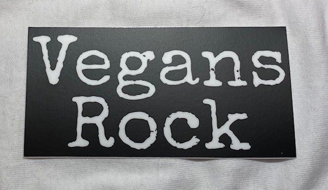 Vegans Rock Sticker