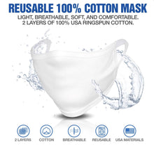 Deluxe Double Layer Cotton Face Mask