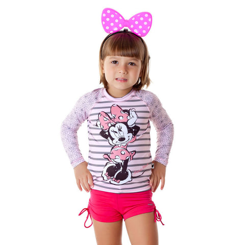 CAMISETA ACQUA MINNIE M. LARGA INF FPU 50+