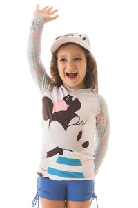 CAMISETA ACQUA MINNIE MANGA LARGA INF FPU 50+