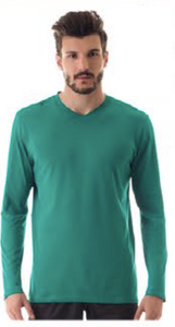 CAMISETA SPORT FIT COLORS ML MASC