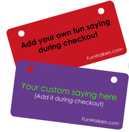 Customize Funwalkers for a fun Father's Day gift!