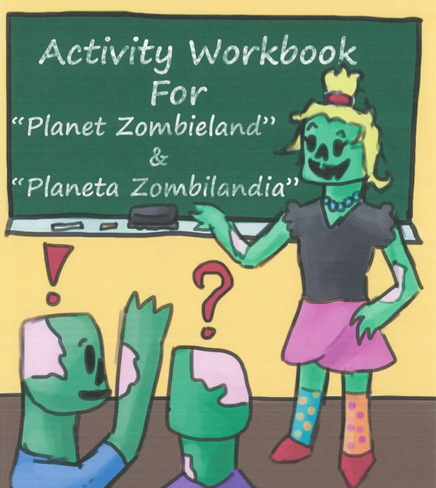 Planet Zombieland Activity Book for Teachers