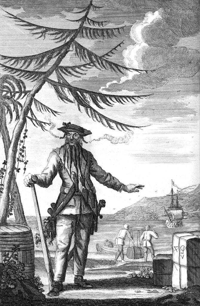 Blackbeard The Pirate (The history and myths behind the legend)