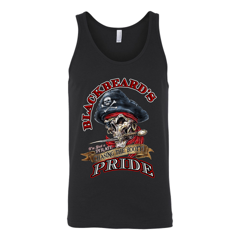 Blackbeard's Pride Chasing Booty Canvas Tank Top