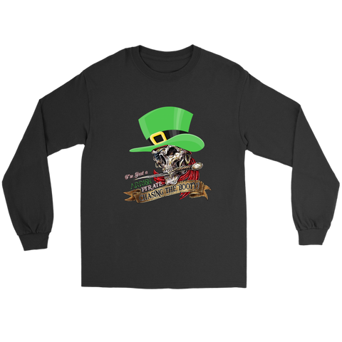 BP Arrish Pirate Chasing Booty - Long Sleeve Tee