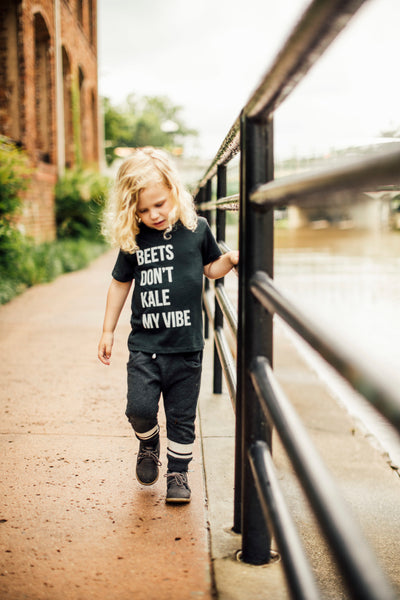 Beets Don't Kale My Vibe Kid's T-Shirt