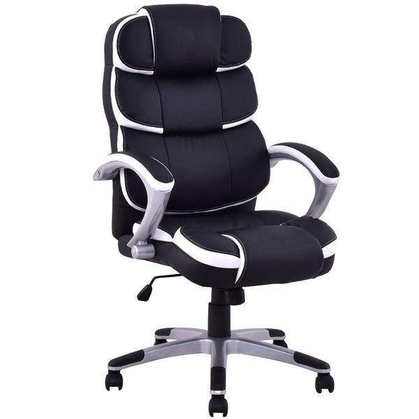 luxury ergonomic pu plush leather office chair classic polo and things