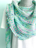 Casapinka Breathe & Hope Shawl Kit - with Manos del Uruguay Alegria Yarn