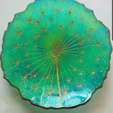 Decorative Resin Dandelion Dish