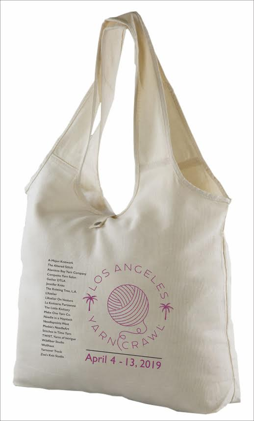 RESERVE Your 2019 LA Yarn Crawl Tote Bags NOW!