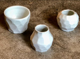 Ceramic Trinket Bowl and Bud Vases