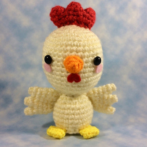 CROCHET PATTERN for Chicken Bird! Delightful Chicken Amigurumi