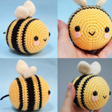 Sugar Pop Crochet Amigurumi Bumble Bee Plushy
