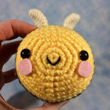 CROCHET PATTERN for Little High Flyer Bumble Bee Amigurumi!
