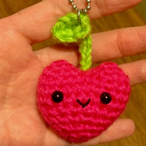 Too-sweet Yummy Cherry Bag Charm