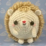CROCHET PATTERN for Hedgie, Super Cute Amigurumi Hedgehog, Challenging Master Class in Crochet!