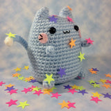 CROCHET PATTERN for Fumfort! The Comfort Kitty! Kawaii Cat Amigurumi!