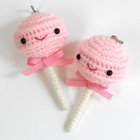 CROCHET PATTERN for Retro Penny Candy Lollipop Plushy