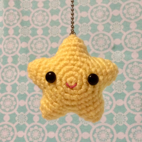 Super Cute Magical Kawaii Star Bag Charm or Keychain