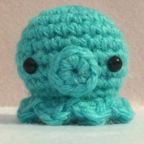 Adorable Tiny Little Octo Amigurumi Plushy