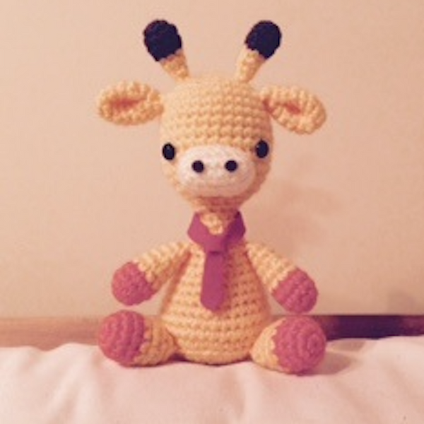 Mini Giraffe Amigurumi Accessory – SheepShaved | 600x600