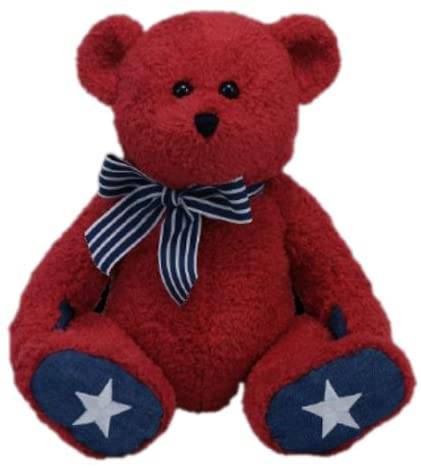 "Patriotic The Bear - TY Beanies 12"" Classic"