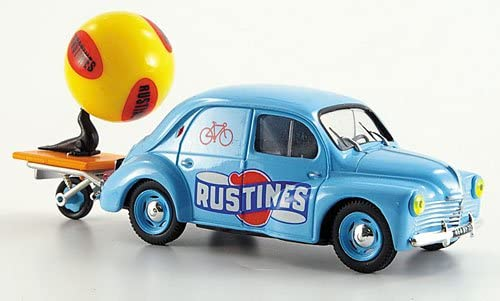 Renault 4 CV, advertising vehicle Rustines, 1951, Model Car, Ready-made, SpecialC.-28 1:43
