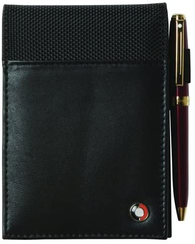Sheaffer Classic Leather Mini Pad with paper - 12.7x8.9x1.9cm - Pen Not Included