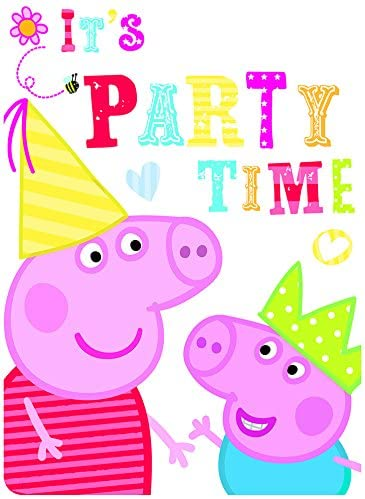 Peppa Pig Party Invites (Pack of 6)